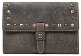 Patricia Nash Washed Denim Collection Colli Wallet