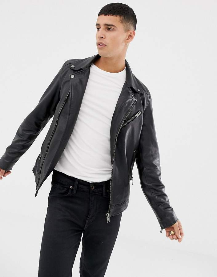 cd4c3a349 leather biker jacket