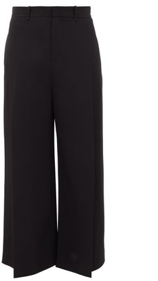 Roland Mouret Liberty Pleated Wide-leg Trousers - Womens - Black
