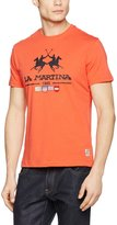 La Martina Men's Crew Neck Camron T-Shirt M