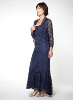 Soulmates D9120 High-Low Dress And Jacket Set