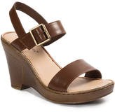 Pierre Dumas Brown Jolie Wedge Sandal