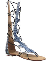 Luichiny Women's Crown Me Gladiator Sandal