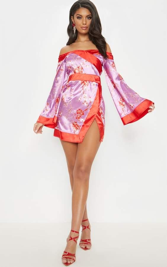 8c9714d61a PrettyLittleThing Purple Bodycon Dresses - ShopStyle UK