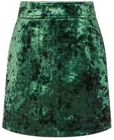 Sandro Velvet Mini Skirt