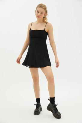 Urban Outfitters Peaches Mesh Mini Dress