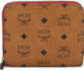 MCM Visetos leather small wallet