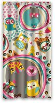 """Beautiful Life Choice 36""""x72"""" Inches - Special Cute Cartoon Colorful Owl Shower Curtain 100% Waterproof Polyester Fabric Bathroom Curtain,Shower Rings Included"""