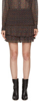 Etoile Isabel Marant Green Julia Miniskirt