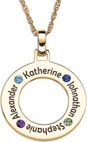 JCPenney FINE JEWELRY Personalized Family Name and Birthstone Pendant Necklace