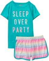 Crazy 8 Sleepover 2-Piece Shortie Pajama Set