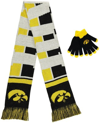 Iowa Hawkeyes Team Gloves & Scarf Set