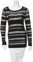 Rag & Bone Rib Knit Scoop Neck Top