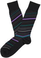 Perry Ellis Color Ribbon Dress Sock