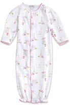 Kissy Kissy Parisian Summer Printed Pima Convertible Sleep Gown, Pink, Size Newborn-Small