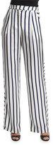 Nicholas Dual-Striped Wide-Leg Pants, Dual Stripe