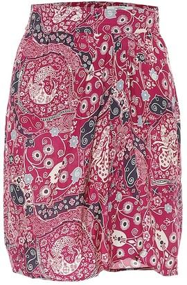 Etoile Isabel Marant Cegart paisley-print miniskirt