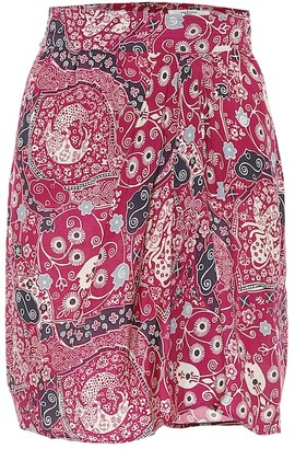 Etoile Isabel Marant Isabel Marant, étoile Cegart paisley-print miniskirt