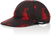 Prada Men's Bunny-Print Baseball Cap-BLACK