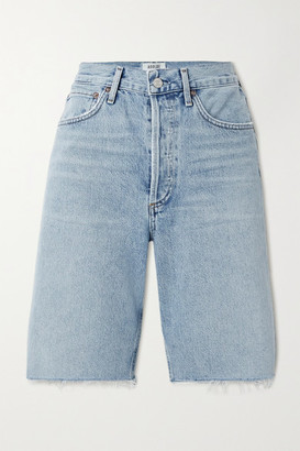 AGOLDE '90s Frayed Denim Shorts