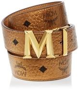 MCM Belt - Color Visetos Metallic