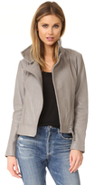 Mackage Lisa Pebble Leather Jacket