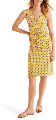 Boden Eden Geo Print Jersey Sleeveless Dress