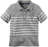 Carter's Baby Boy Striped Jersey Polo