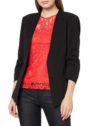 VILA CLOTHES Women's VIHER 3/4 NEW BLAZER-NOOS Blazer