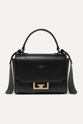 Givenchy Eden Mini Leather Shoulder Bag - Black
