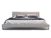 Modloft Leather Chelsea Platform Bed