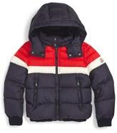 Moncler Aymond Hooded Down Jacket (Little Boys & Big Boys)