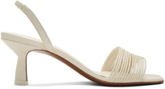 Neous Off-White Rossi 55 Slingback Heeled Sandals