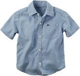 Carter's Short-Sleeve Denim Shirt - Preschool Boys 4-7