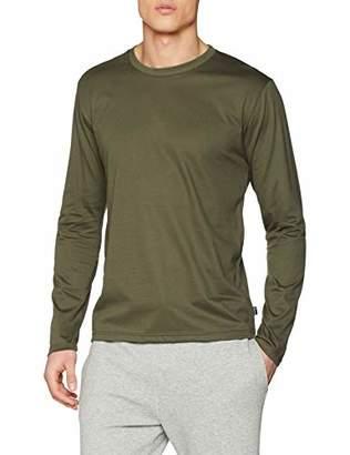 Trigema Men's 636501 Long Sleeve Top,Small