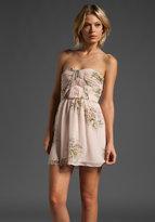 Twelfth Street By Cynthia Vincent Montego Shirred Corset Mini Dress