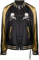 Mastermind World skull print bomber jacket