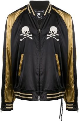 Mastermind Japan Skull Print Bomber Jacket