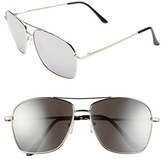 A. J. Morgan A.J. Morgan 'Mission' Aviator Sunglasses