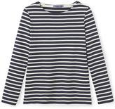 Petit Bateau Womens sailor top in heavy jersey