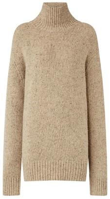 Joseph Flecked Rollneck Sweater