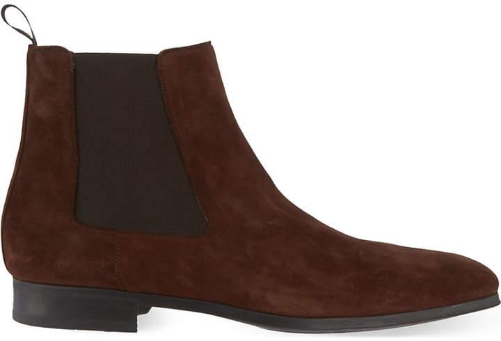 34e278f81db Mens Brown Classic Chelsea Boots