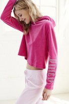 Juicy Couture For UO Gothic Crystal Hooded Velour Top