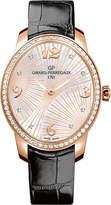 Girard Perregaux Girard-Perregaux 80493D52A763-CK6A Cat's Eye alligator-leather, 18ct rose-gold and diamond watch