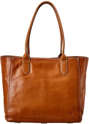 Frye Olivia East/West Leather Tote