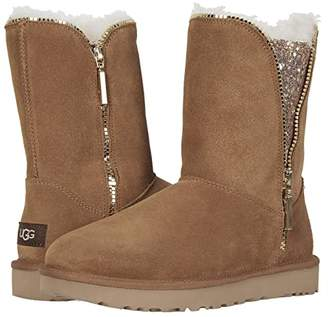 UGG Classic Zip Boot (Chestnut) Women's Cold Weather Boots