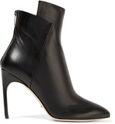 Sergio Rossi Paneled leather boots
