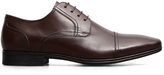 Kenneth Cole Deter-Min-Ed Leather Cap-Toe Oxford