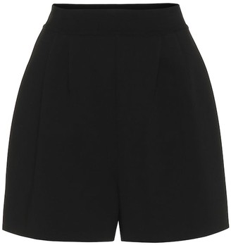 Alaia High-rise stretch-knit shorts