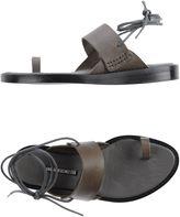 Ann Demeulemeester Toe strap sandals